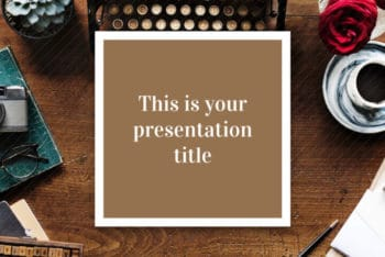 Free Writing Skills Lesson Powerpoint Template