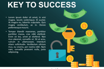 Free Financial Success Tips Powerpoint Template