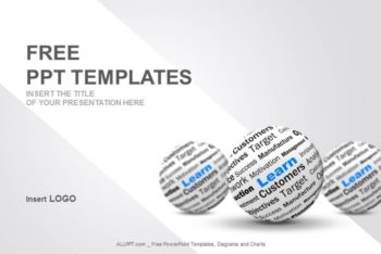 Free Learning Knowledge Sphere Powerpoint Template