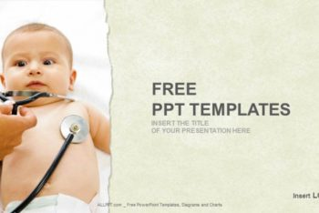 Free Baby Medical Checkup Powerpoint Template