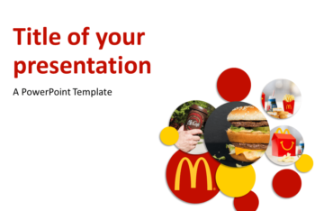 Free McDonalds Brand Concept Powerpoint Template