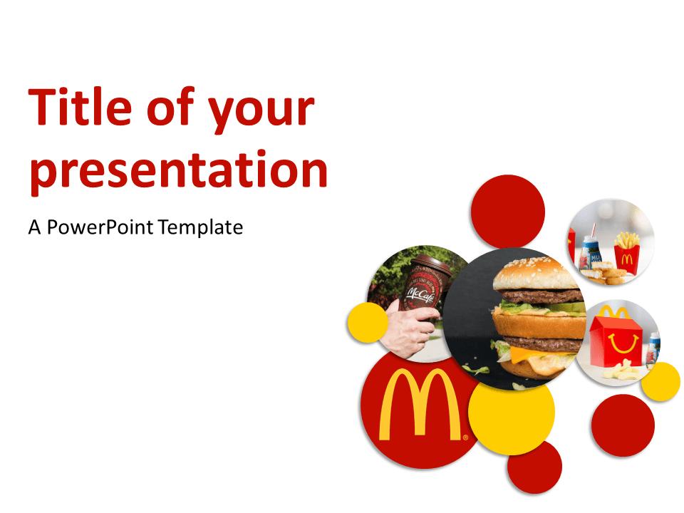 McDonalds Brand Concept