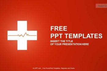 Free Medical Cross Symbol Powerpoint Template