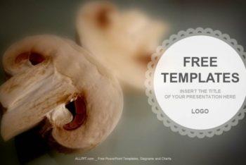 Free Incredible Mushroom Food Powerpoint Template