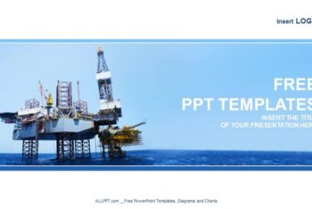 Free Offshore Oil Rig Powerpoint Template