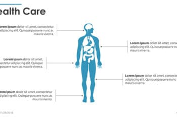 Free Anatomy Health Care Powerpoint Template