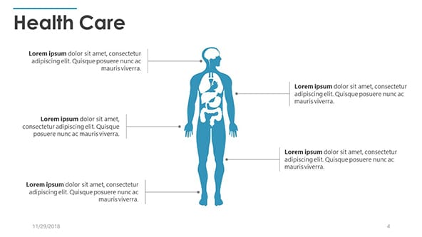 Free Anatomy Health Care Powerpoint Template Designhooks