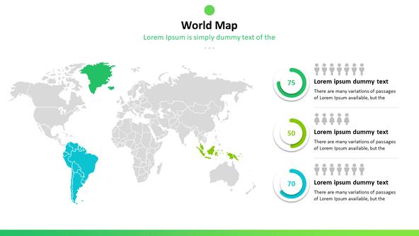 Free Digital World Maps Powerpoint Template - DesignHooks on