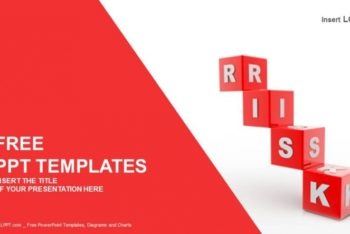 Free Risk Blocks Concept Powerpoint Template