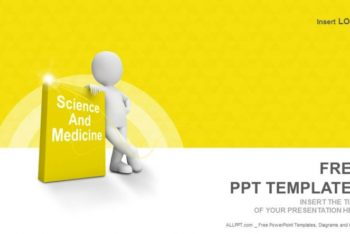 Free Medical Science Book Powerpoint Template