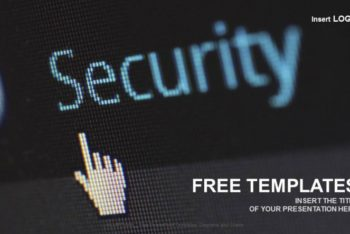 Free Business Cyber Security Powerpoint Template