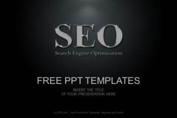Free Shiny SEO Symbol Powerpoint Template