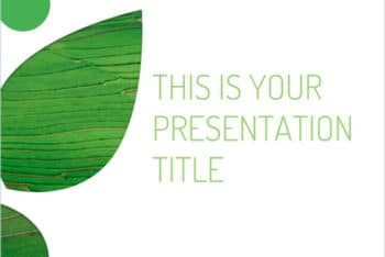 Free Eco Green Concept Powerpoint Template