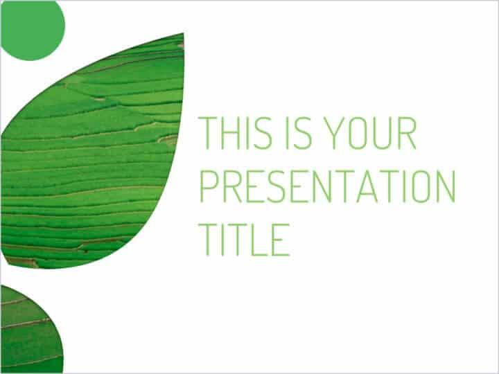 Free Eco Green Concept Powerpoint Template Designhooks