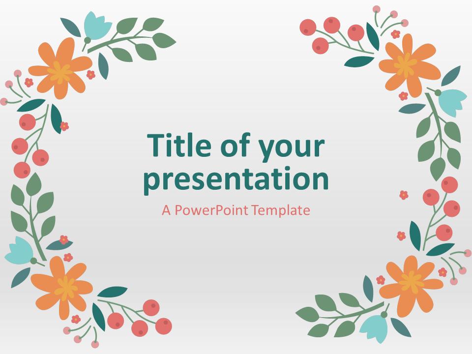 Spring Presentation Theme
