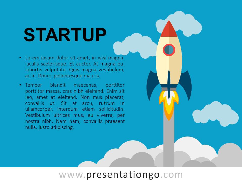 Startup Rocket Slides