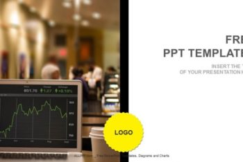 Free Stock Market Rates Powerpoint Template