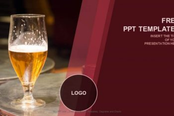 Free Tasty Beer Concept Powerpoint Template