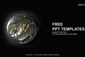Free Elegant Watch Industry Powerpoint Template