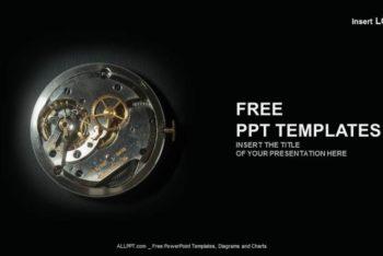 Free Elegant Watch Industry Powerpoint Template
