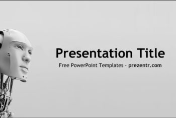 Free Artificial Intelligence Machine Powerpoint Template