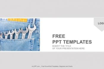 Free Wrench Package Collection Powerpoint Template