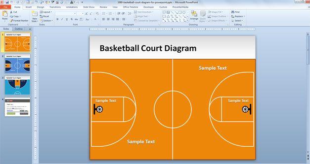 Basketball Court Slide