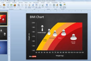 Free Comprehensive BMI Chart Powerpoint Template