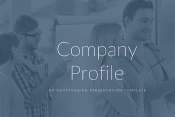 Free Company Profile Slides Powerpoint Template