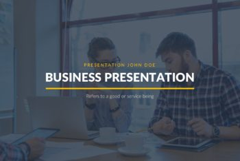 Free Business Proposal Theme Powerpoint Template