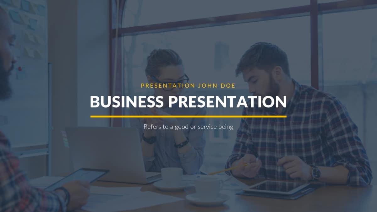 Free Business Proposal Theme Powerpoint Template Designhooks