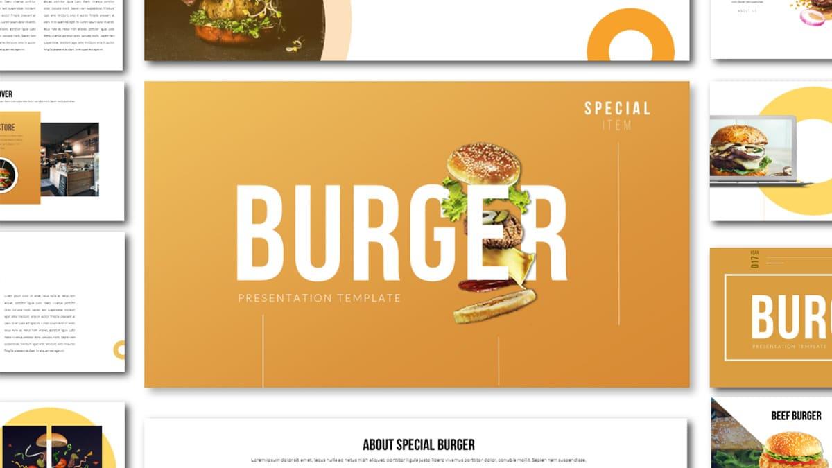 Special Tasty Burger