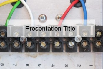 Free Electrical Wiring Lessons Powerpoint Template