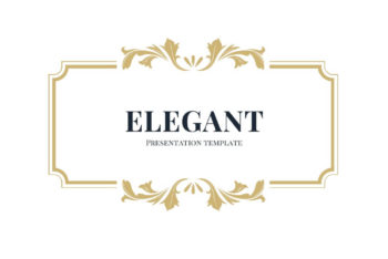 Free Elegant Style Slides Powerpoint Template