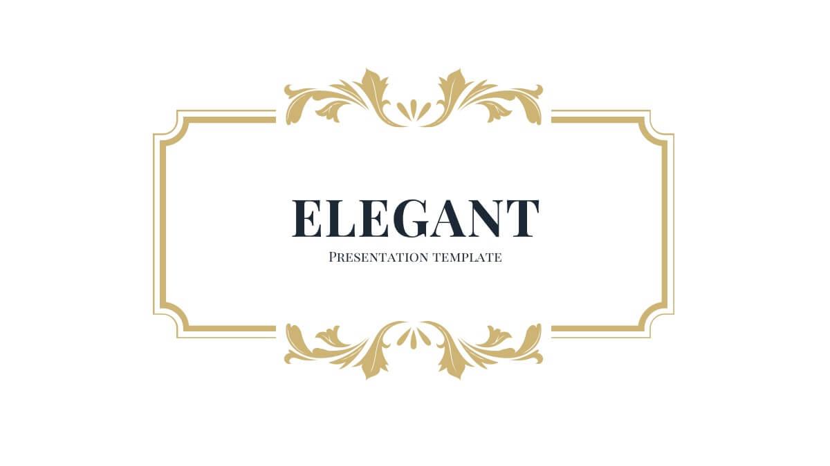 Elegant Style Slides