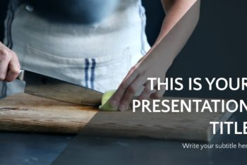Free Expert Chef Presentation Powerpoint Template