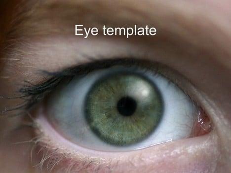 Eye Closeup Slides