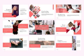 Free Notch Fashion Slides Powerpoint Template