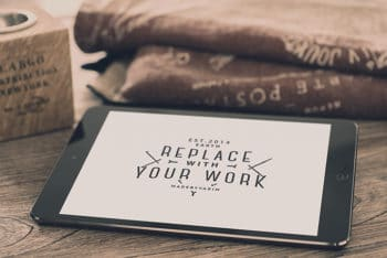 Create a Beautiful Design with This Free iPad Mockup