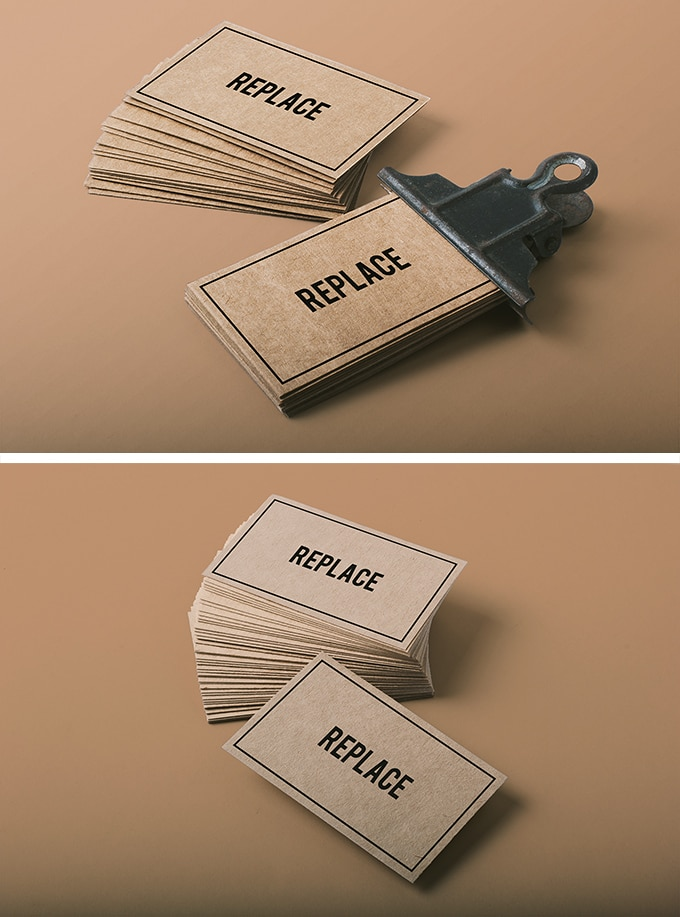 Download business card mockup free