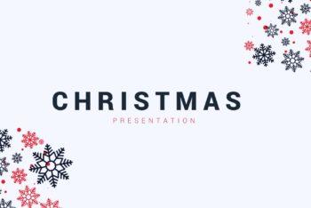 Free Precious Snowflake Slides Powerpoint Template
