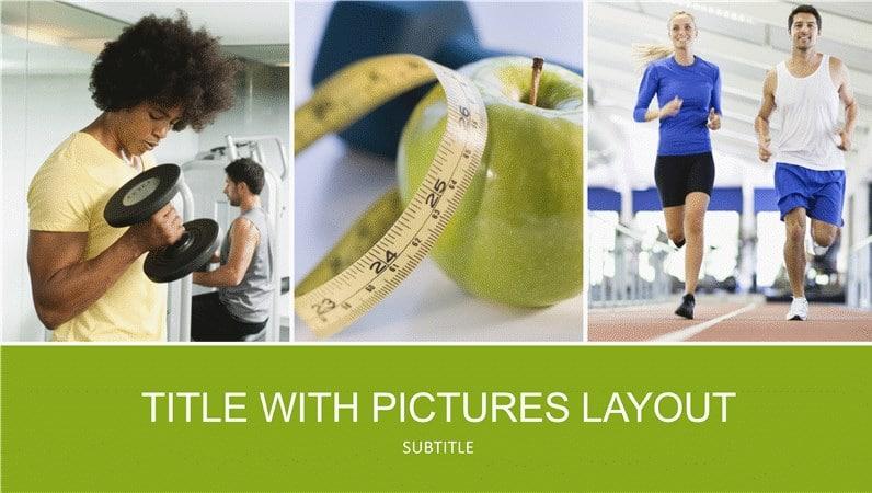 Health Plus Fitness Concept
