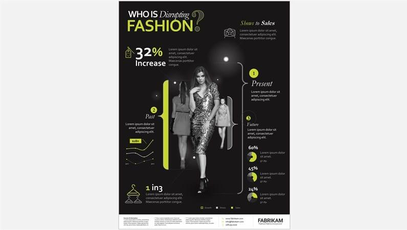 Fashion Infograph Slides