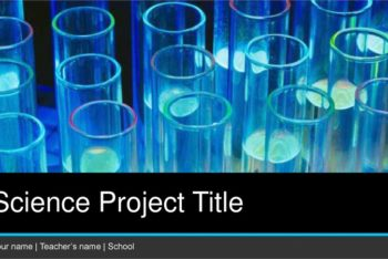 Free Science Project Concept Powerpoint Template