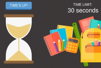 Free Classroom Timers Concept Powerpoint Template