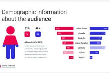 Free Instagram Data Analysis Powerpoint Template