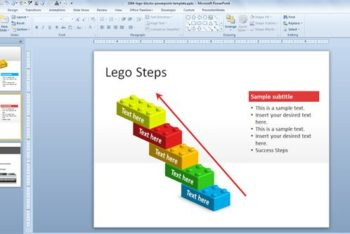Free Symbolic LEGO Blocks Powerpoint Template