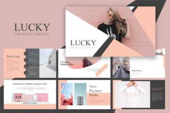 Free Feminine Style Slides Powerpoint Template
