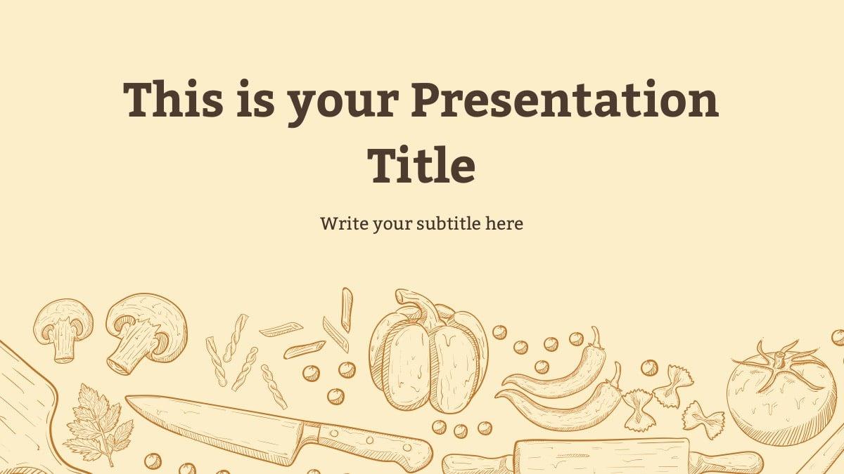 Food Theme Slides