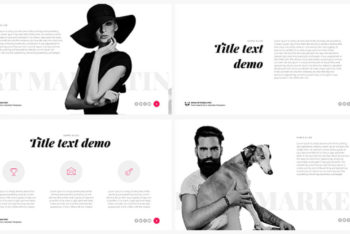 Free Modern Style Report Powerpoint Template